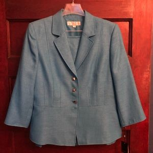 Bright Blue Two-Piece Suit NWT